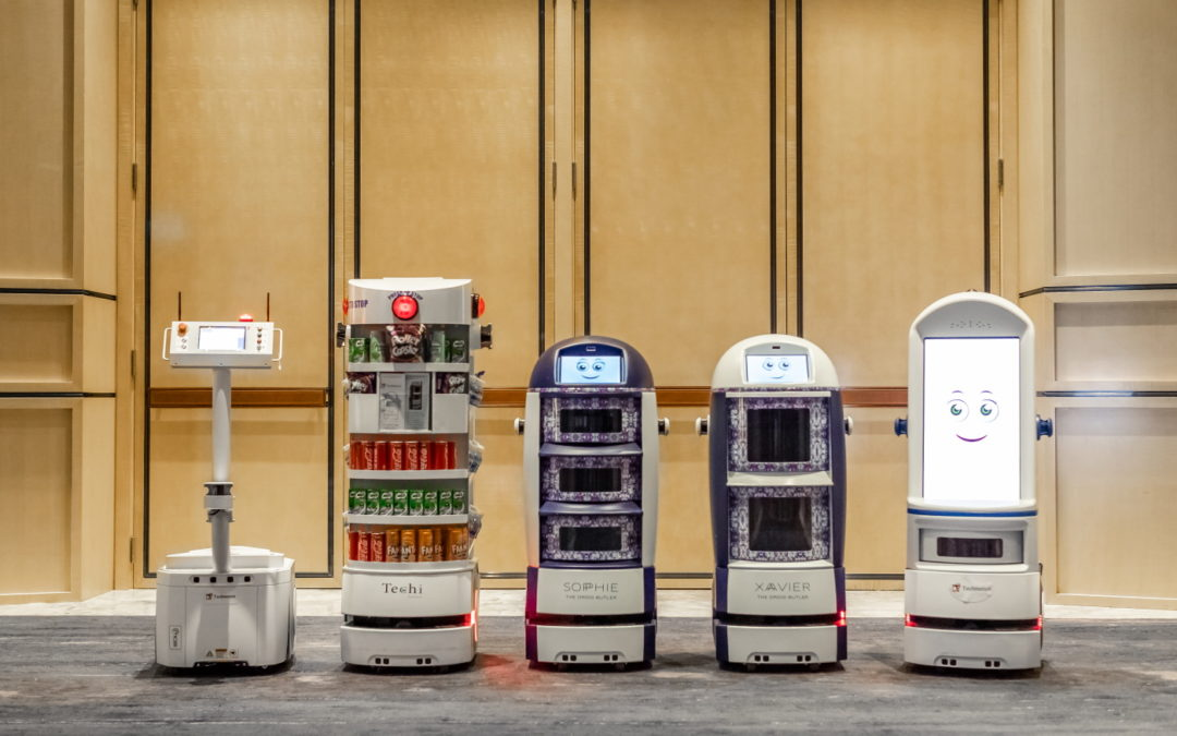 Techmetics launches two new lines of autonomous robots in the US