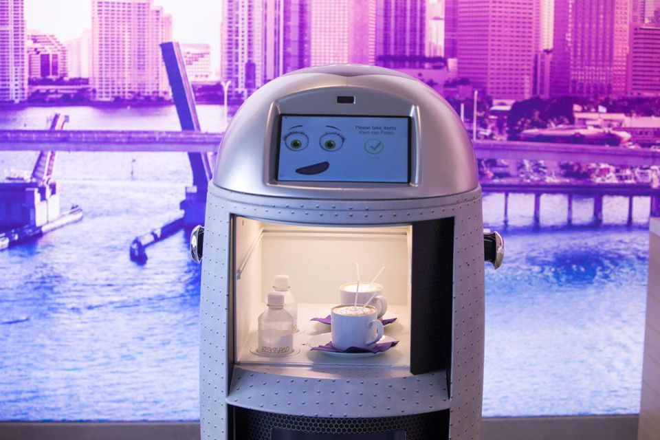 Service With A Cyber Touch: Robots In The Service Industry